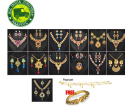 50% OFF ON 1 Gram Gold Plated 13 Jewellery Set